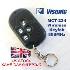 Visonic Wireless Remote Keyfob for PowerMax Systems MCT-234 868MHz - UK Seller