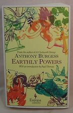 Anthony Burgess EARTHLY POWERS First edition thus: Advance reading copy.