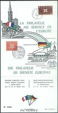 France Germany 1964 FDC Carnet Union Europa Cept