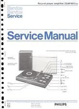 Philips original service manual pour 22 AF 461