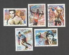 France oblitérés - Le siècle au fil du timbre - Le sport - N°3312 à 3316 - TB