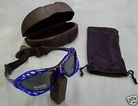 Polarised Sport Sunglasses water jet ski kite snow board surf sail sailing Blue