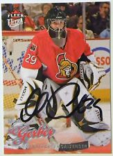 Ottawa Senators Martin Gerber Signed 08/09 Ultra Card