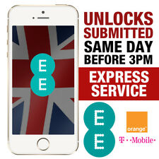 UNLOCK SERVICE For iPhone 7 / iPhone 7 Plus Unlocking EE ORANGE T-MOBILE UK