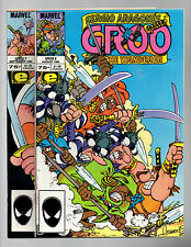 Groo The Wanderer #6 & 7 Sergio Aragones Marvel 1985 FN/VF to VF-