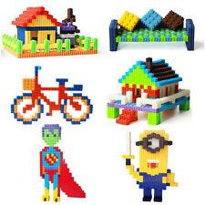 200 Pcs Set Plastic Building Blocks Kids Toy New Puzzle Educational Learning AX