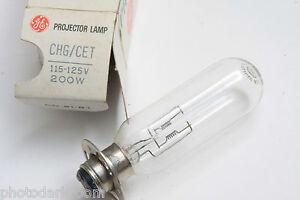 CHG CET 115-125 Volt 200 Watt Bulb 115V 200W Lamp GE General Electric - NEW L06