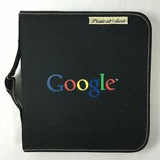 Google Logo Picnic at Ascot Portable Cheese Board & Cutlery Set Zip Portfolio