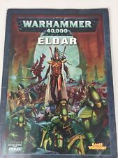WARHAMMER 40,000 Codex Eldar supplemento ESERCITI MANUALE 40k