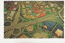 Model Of New York Worlds Fair 1964-5 USA Vintage Postcard US030