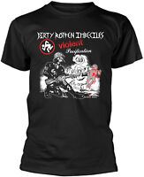 D.R.I. DIRTY ROTTEN IMBECILES Violent Pacification T-SHIRT OFFICIAL MERCHANDISE