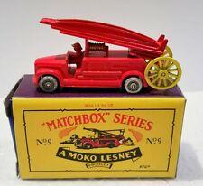 1948 DENNIS F.2 FIRE ENGINE, Matchbox Recreation Originals, 1993 Limited Edition