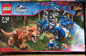 Jurassic World lego 75918
