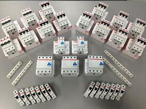 ABB Sicherung FI Schalter Sicherungsautomat Leitungsschutzschalter 1/3pol wählb.