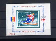 TOP RUMÄNIEN 1976, MiNr. Block 129, **, postfrisch, LUXUS, Olympia, E10