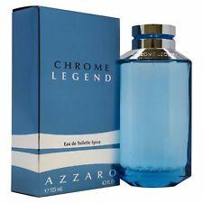 Chrome Legend Azzaro Men 4.2 oz 125 ml Eau De Toilette Spray Nib Sealed