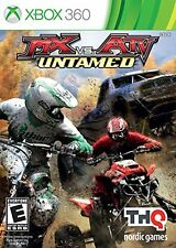 Mx Vs ATV Untamed Xbox 360 Racing Motor Video Game Console Dirt Bike Disc New