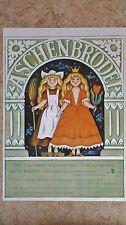 (D94) DDR-Plakat ASCHENBRÖDEL 1981