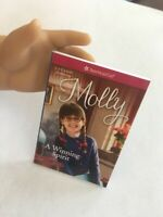 """18"""" American Girl Doll Mini Real Story Book Only Molly Authentic"""