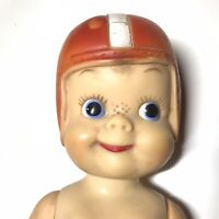 Vintage Effanbee Football Doll Mickey #23 All American 1950's