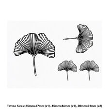 'Ginkgo Leaf' Temporary Tattoos (TO018603)