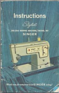 Singer 457  Service Manual ++++++