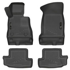 HUSKY 99121 WeatherBeater Front Rear Floor Mats for 16 17 Chevy Camaro Black 4pc