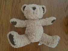 JellyCat/Jelly cat Brown & Tan Teddy Bear con Beanie MANI, PIEDI & Inferiore