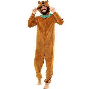 Mens Scooby Doo Sleepsuit I Mens Scooby Doo PJ I Scooby Doo Pyjama All In One