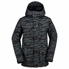 2017 NWT MENS VOLCOM ALTERNATE SNOWBOARD JACKET $180 L camouflage