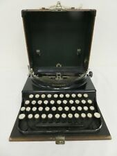 Remington 1933 Portable Typewriter - Working, with Case - Serial S158253