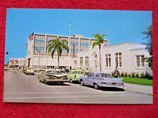 1960's Street View Manatee Avenue Bradenton Florida Postcard