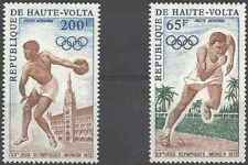Timbres Sports JO Athlétisme Haute Volta PA102/3 * lot 25091