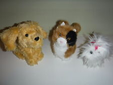 American Girl Pets Lot Ginger Cat Honey Dog Our Generation White Yorkie