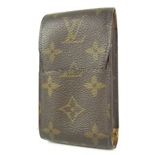 Auth LOUIS VUITTON M63024 Monogram Etui Cigarette Case F/S 852
