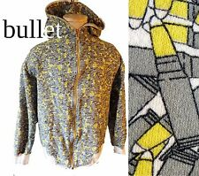 CLH shell bullet print XL hoodie grey rifle hunting gangster ammo fabric paleo