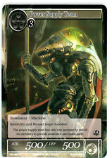 1 x Power Supply Team FOIL - SKL-089 - C - 1st Edition x4 Force of Will