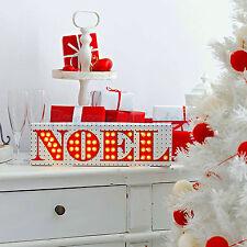 NOEL Christmas Lights LED Party Illumination Christmas Decoration Light Box