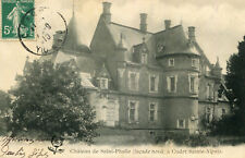 Carte CUDOT SAINT ALPAIS Château de St Phalle Façade Nord