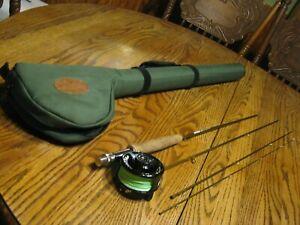 "Cabela's Sage Launch Fishing Rod Reel RLS1 Length 386-4 #3 Line 8'6"" 3 1/4 0z"