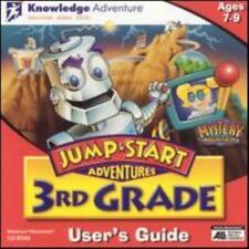 Jumpstart 3rd Grade Pc Mac Cd learn computer history math reading science game!