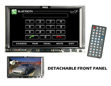 7'' 2 Din Detachable TFT Touch Screen Bluetooth DVD/MPEG4/MP3-R/USB/SD/AM/FM/RDS