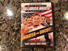 Talladega Nights The Ballad Of Ricky Bobby Dvd! 2006 Action! See) Step Brothers