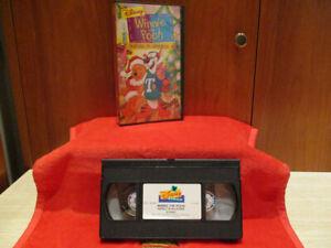 VHS - WINNIE THE POOH Natale in Allegria (WALT DISNEY) 1999
