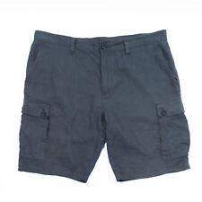 Michael Kors Grey Linen Cargo Shorts 38 9472