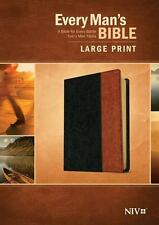 Every Man's Bible (2015, Imitation Leather, Large Type)