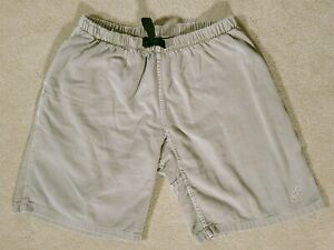 Vintage Men's GRAMICCI Belted Cotton Climbing Shorts Size M Made in USA