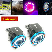 Universal Motorcycle Scooter Spotlight Halo Projector Lens LED Headlight IP68