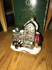Dept 56 Dickens Village Mill Poland Signed Numbered Glass Christmas Ornament