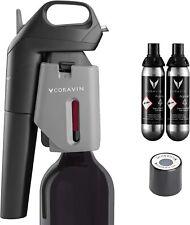 Coravin Model Three 3 Wine Preservation System w/ 2 Capsules & Screw Cap, NEW